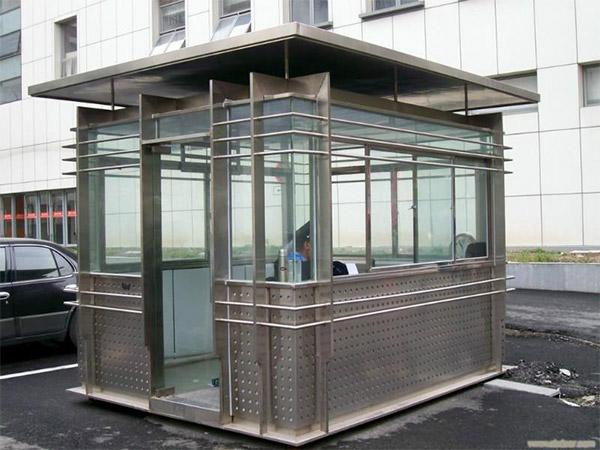 方型不锈钢保安亭